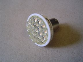 x BA15S SING 21 LED WARMWHTE 11-15V